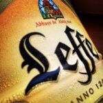 Etiquette de bière Leffe